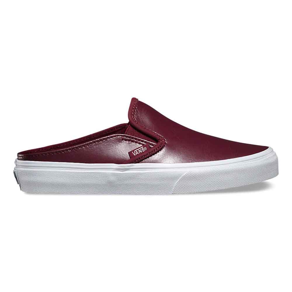 Vans Classic Slip-On Mule(Leather) Port Royale/True White 6132