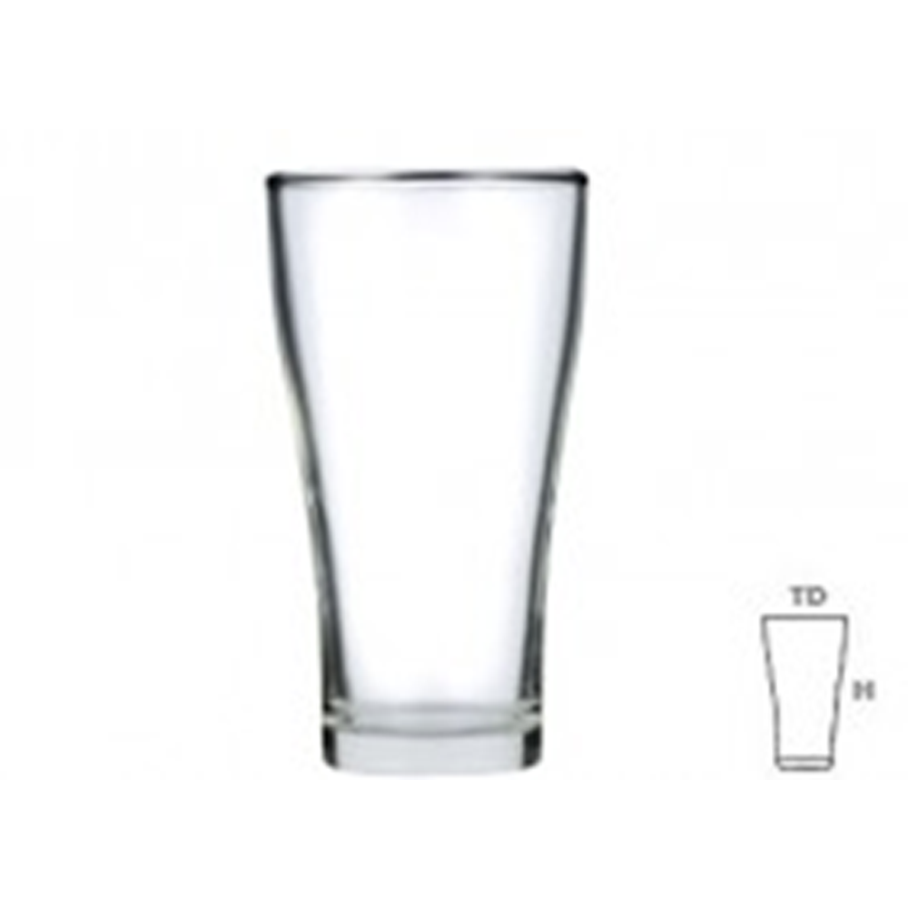 LUCKY Beer Glass LG22 / 102214 -  6 pcs