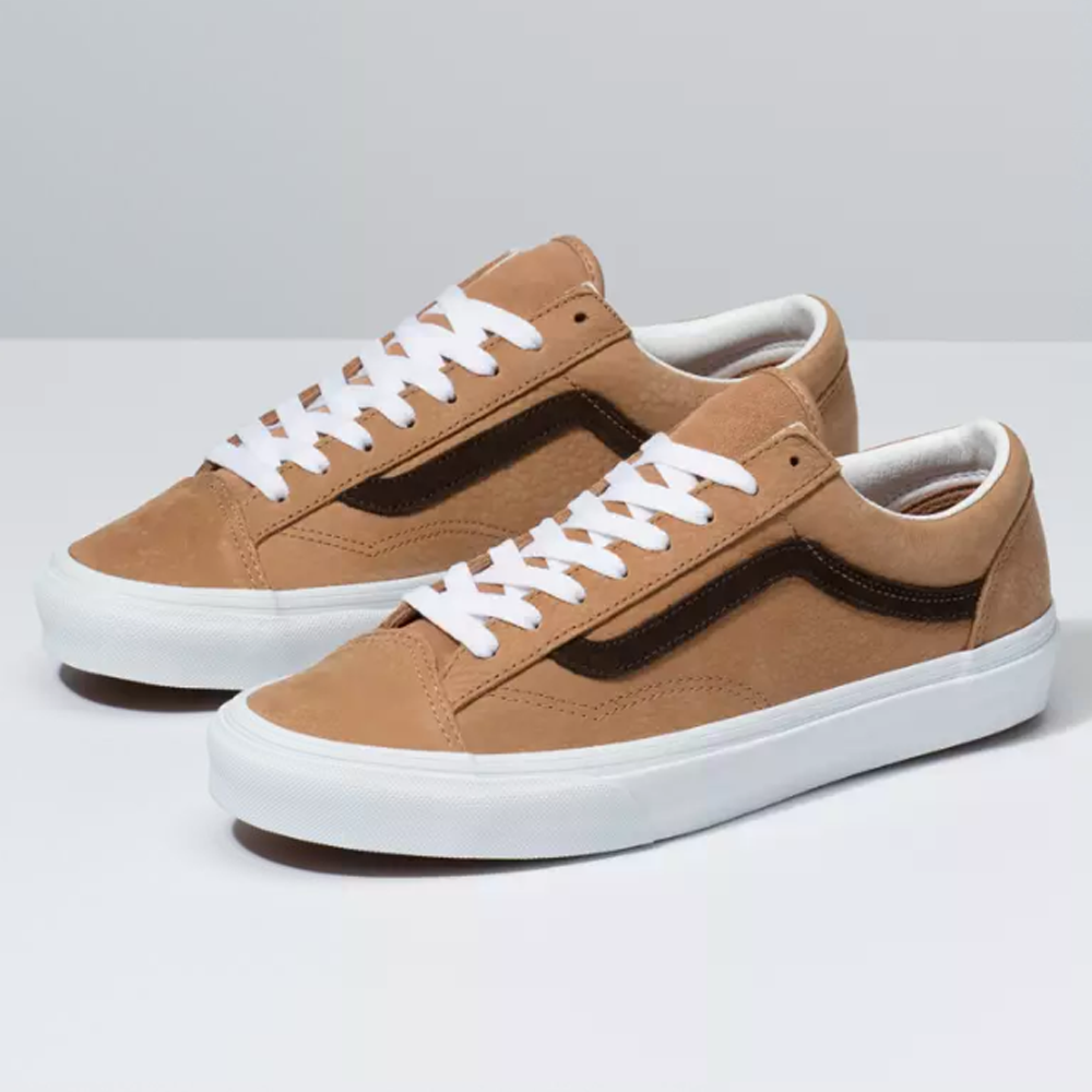 Vans Ua Style 36(Os Grain Leather) Camel 9304