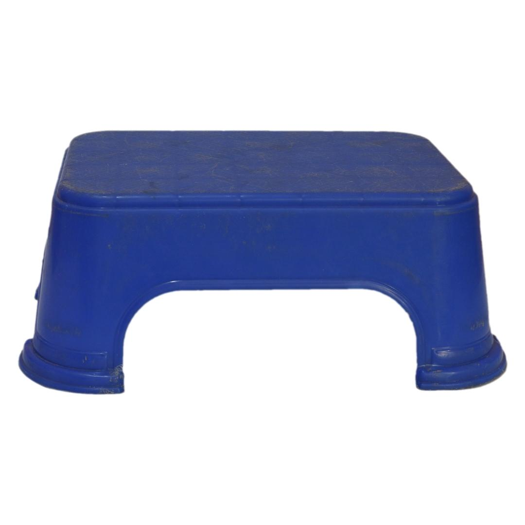 Bagmati Rectangular Plastic Bathroom Stool - DLX444