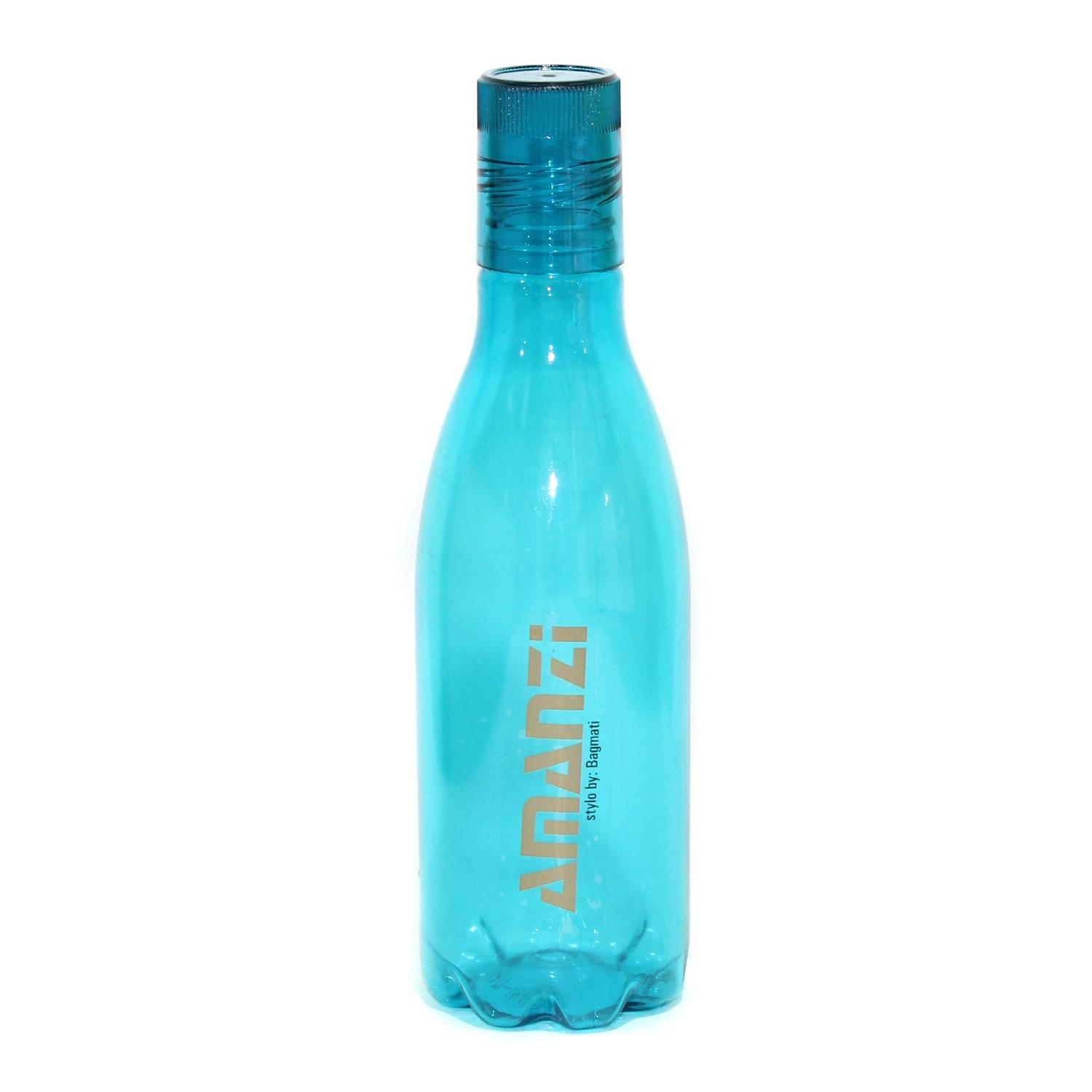 Bagmati Transparent Plastic Water Bottle - 500ml