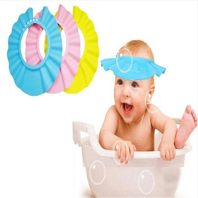 Baby Shower Cap For Children (Multicolour)