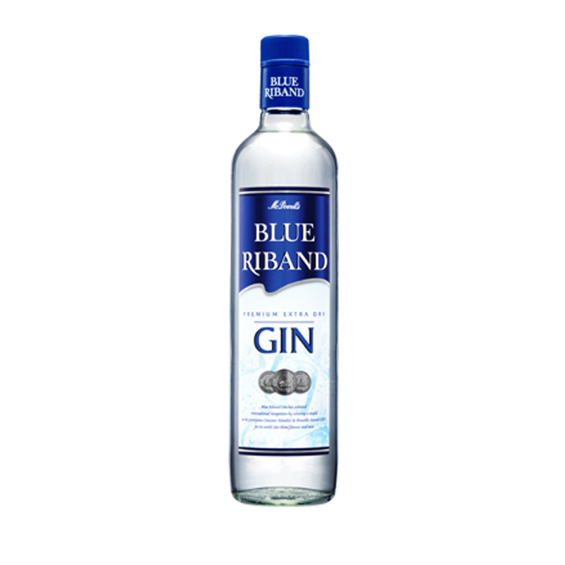 Blue Riban Gin 750ml