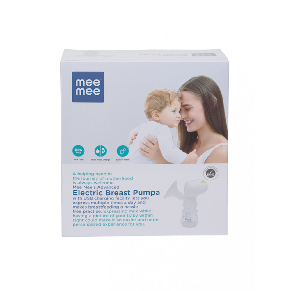 Mee Mee Advanced Electric Breast Pump (White)