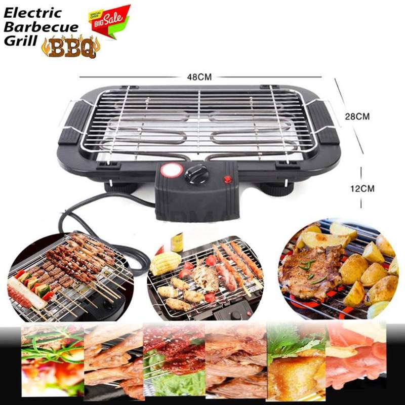 Electric Smokeless Barbeque Grill and Barbeque Grill Toaster Multifunction BBQ ( Sekuwa Machine )