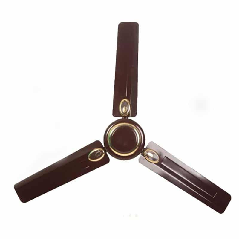"Yasuda Fan YS FAN FA 80 GP 48"" Brown"