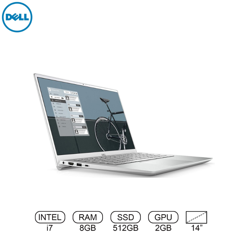 Dell Inspiron 14 5402 - i7-1165G7 | 8GB | 512SSD | NVIDIA® GeForce® MX330 2GB GDDR5 | FHD WVA |BKL KB + FPR | WIN 10