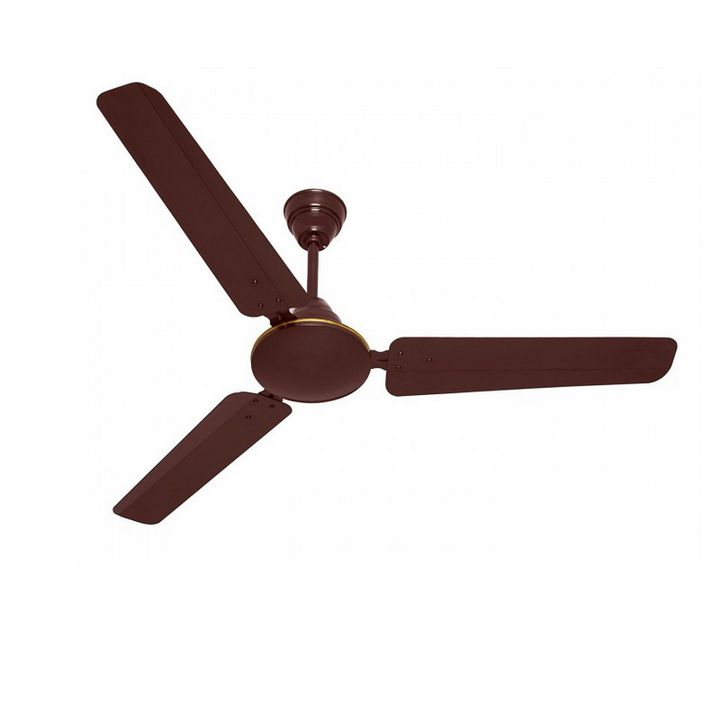 "Himstar Celling Fan 24"" Brown & White"