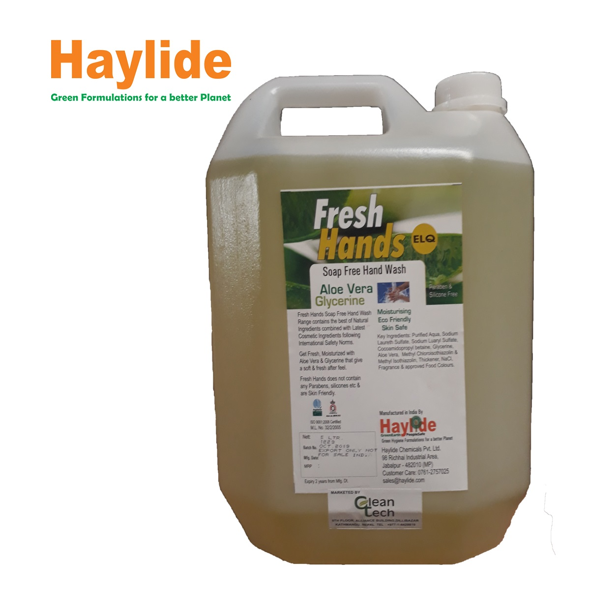 Fresh Hands Elq Hand Wash Soap - 5 Ltr
