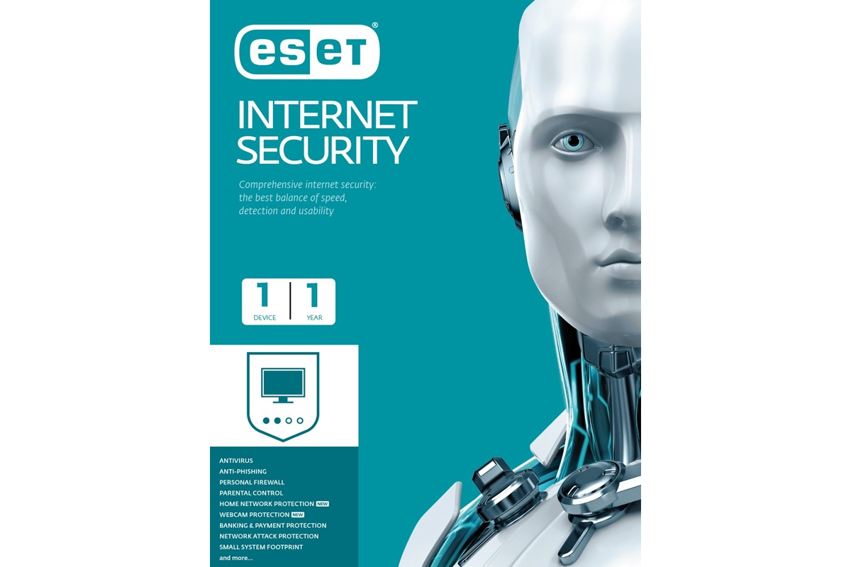 ESET Internet Security | 1 user | 1 year
