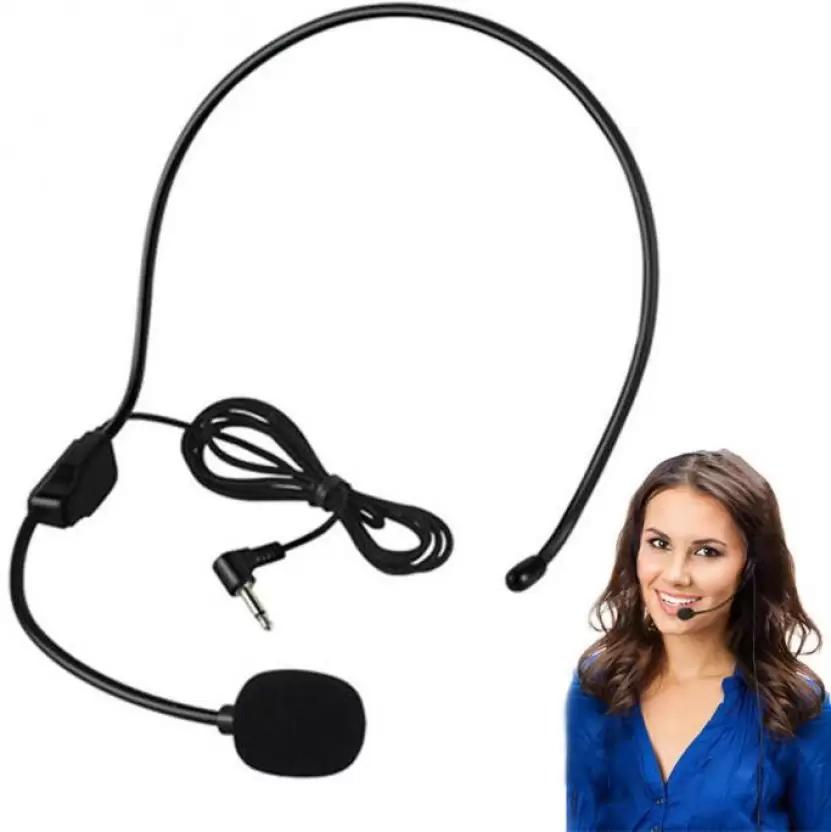Teacher Speaker Condenser Handsfree Mini Headset Microphone Mic Wired Boom with Hyundai H33s / Recording Edition / Single / Standard