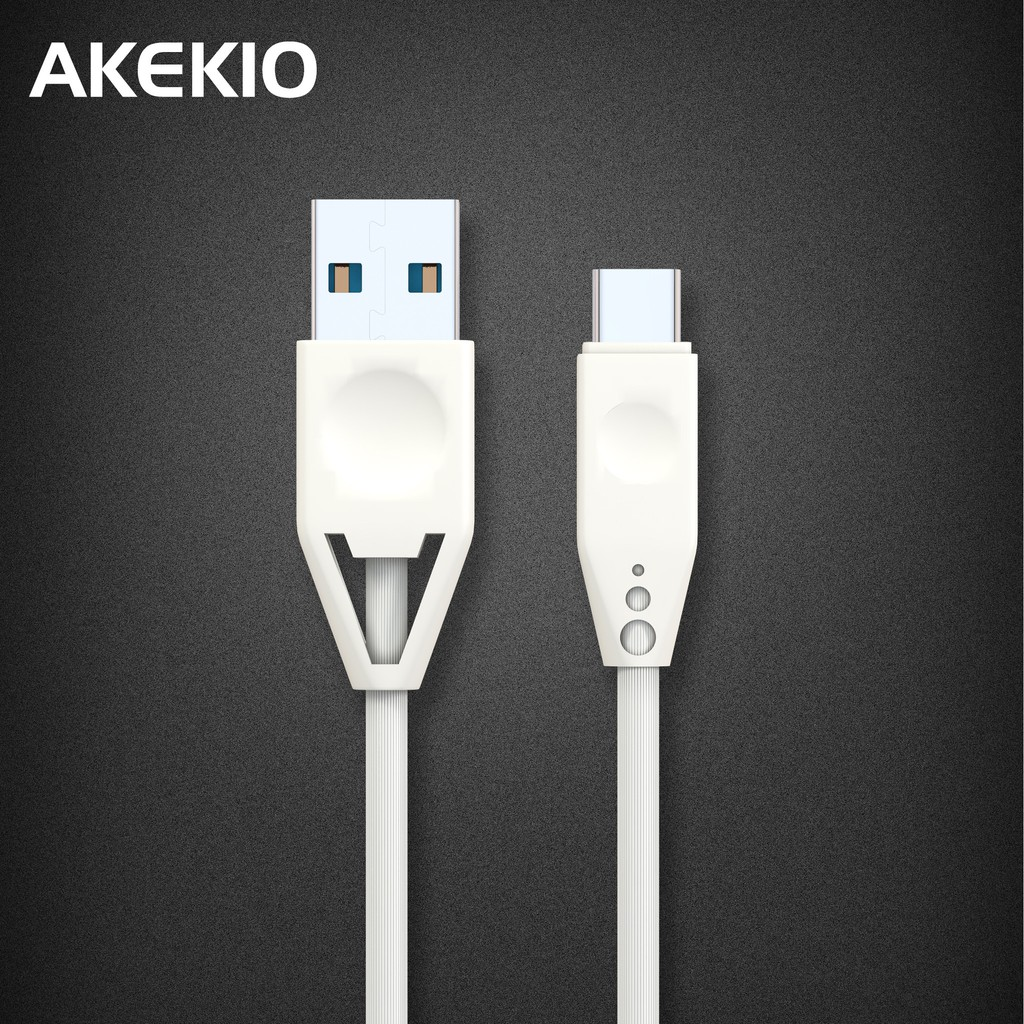 Akekio UC06 Type C 2.4A Fast Charging & Data Sync USB-C cable For Android Phones & Tablet