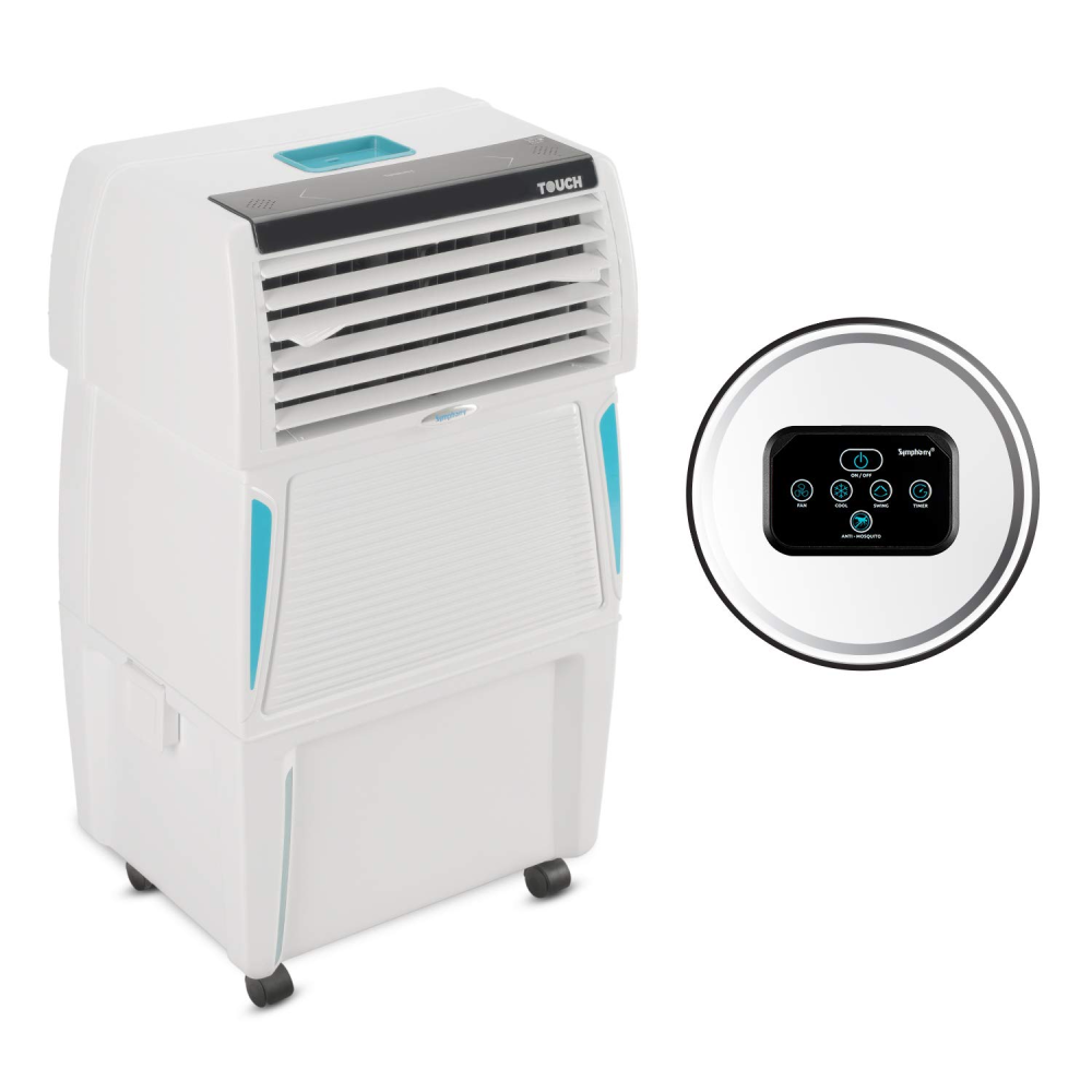 Symphony Touch 35 Personal Air Cooler 35-Litres (White)