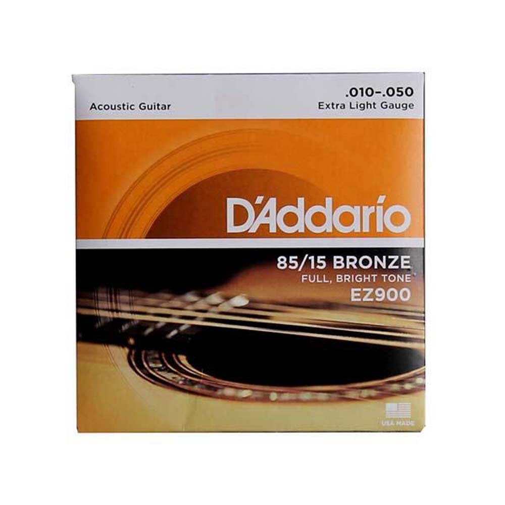 D'Addario EZ900 Guitar Strings (Acoustic), Extra Light
