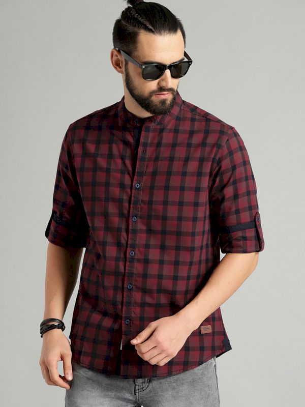 Roadster Men Regular Fit Casual Shirt