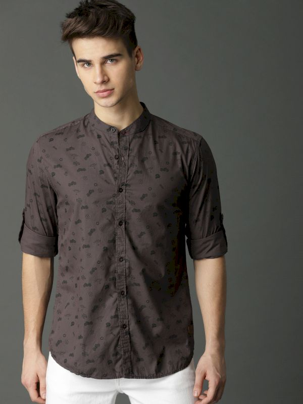 Roadster Printed Casual Shirt