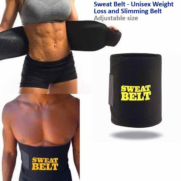 Sweat Belt - Unisex Weight Loss And Slimming Belt