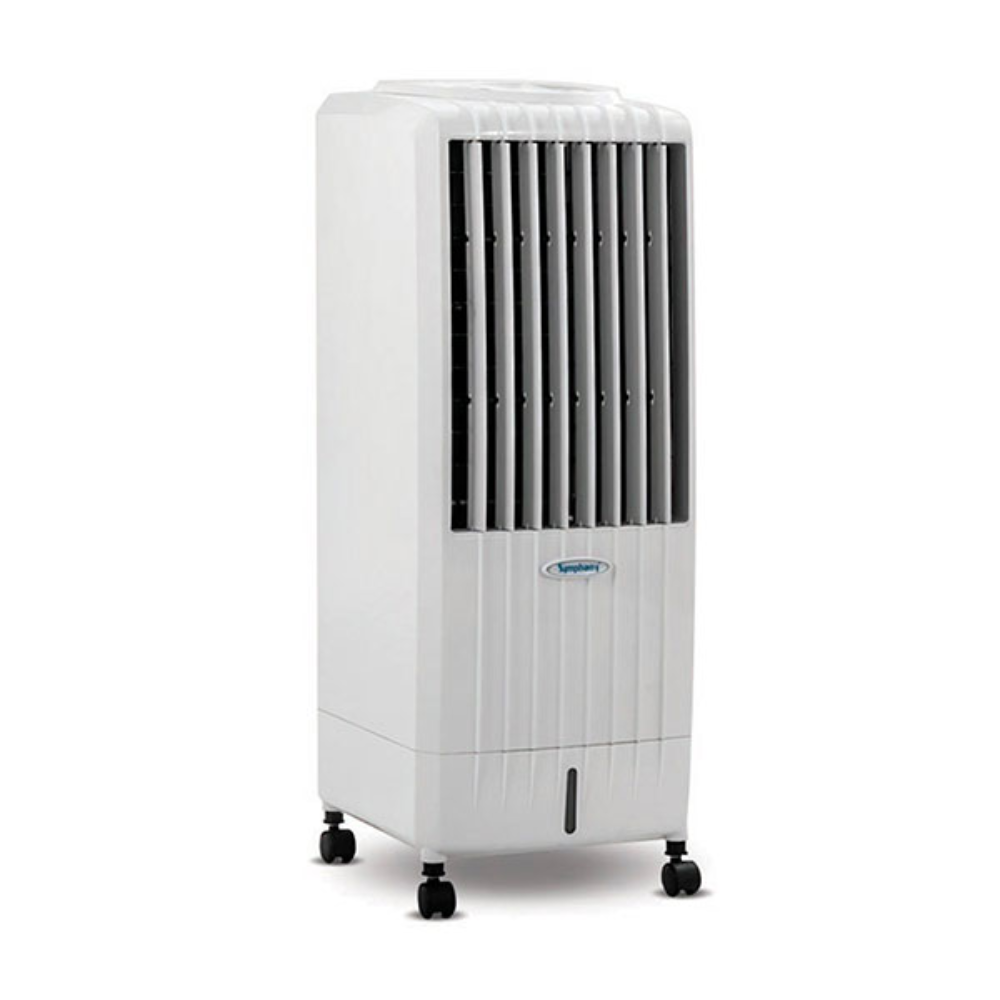 Symphony Diet 8i 8-Litre Air Cooler With Remote (White)-For Small Room