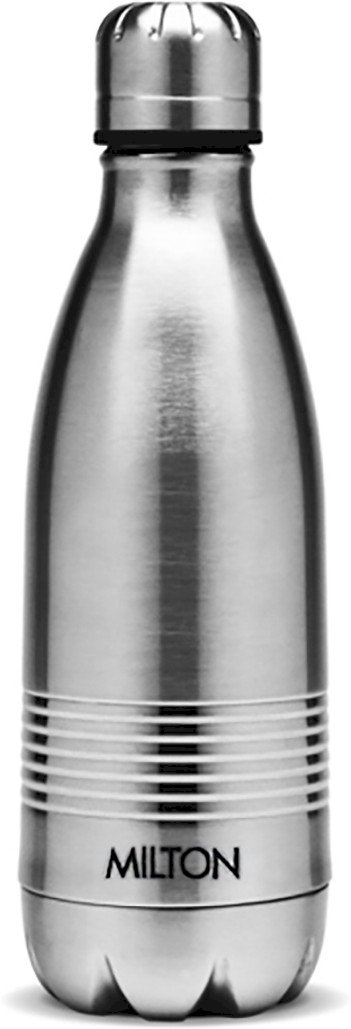 Milton Thermosteel Duo 350 ml Flask Pack of 1, Silver, Steel