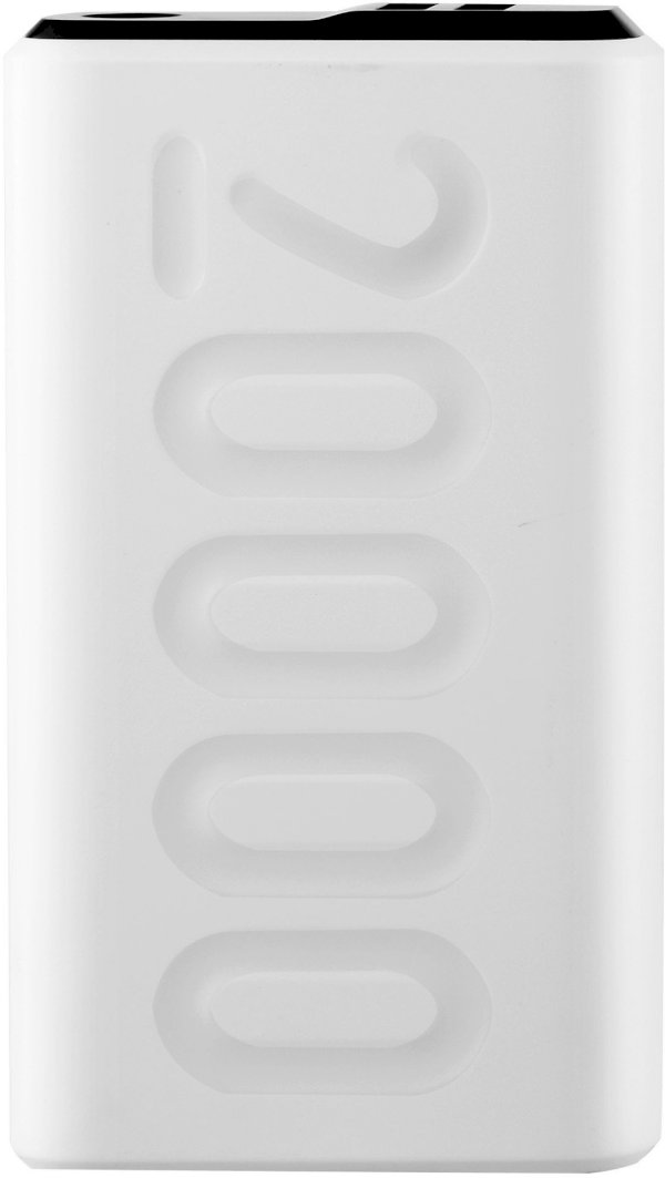 Ambrane 20000 mAh Power Bank Fast Charging, 12 W White, Lithium Polymer