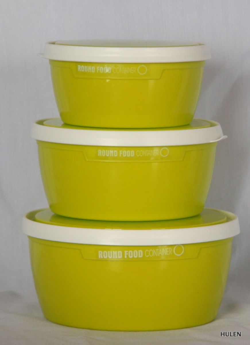 Round Food Plastic Container