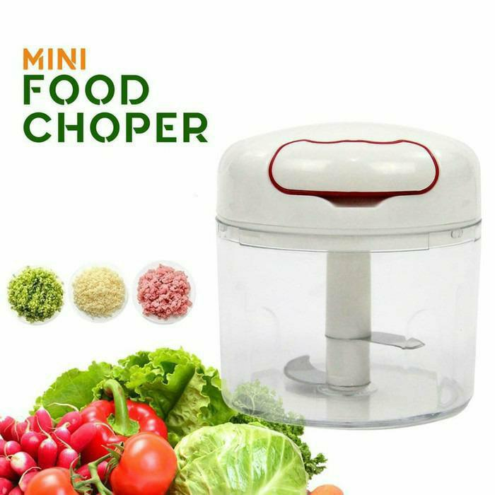 Mini Food Chopper Easy Pull String Spin Cutter Vegetables Garlic Cutter Good Quality Speedy Chopper