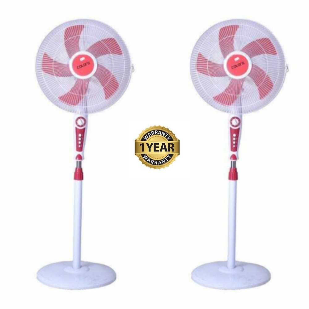 Colors Stand Fan (CL-04SFA) Set of Two