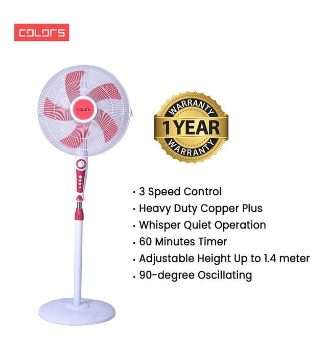 Colors Hercules Edition Stand Fan (CL-04SFA)