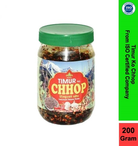 Timur Ko Chhop With Veg in 200g-RedWhite