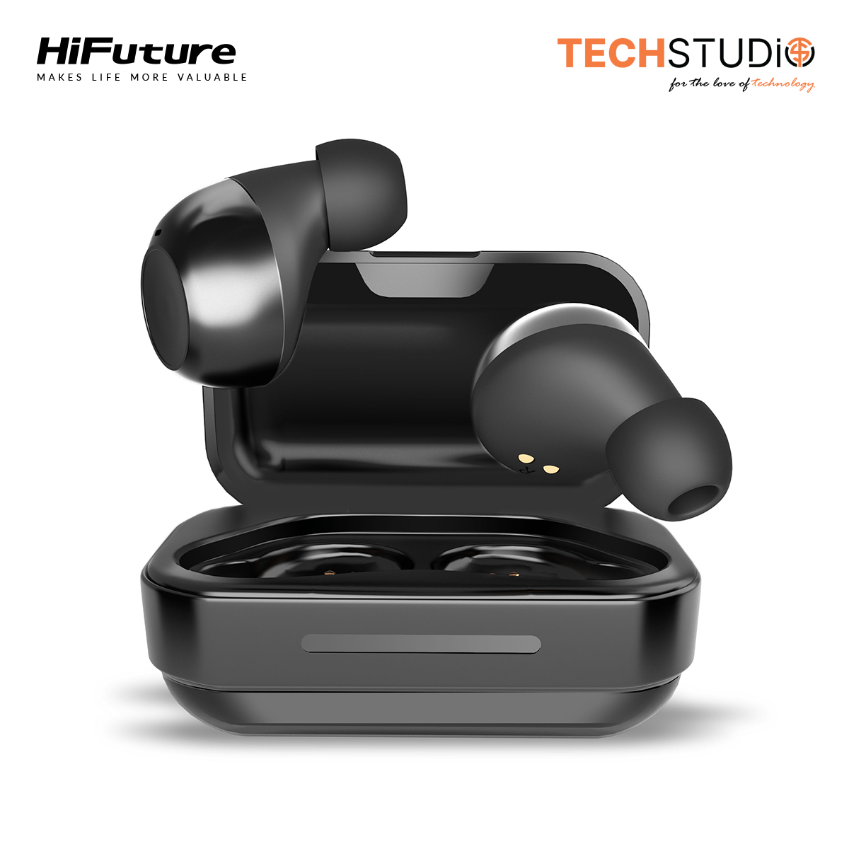 HiFuture Voyager Bluetooth Earphones True Wireless Earbuds with Microphone TWS 5.0